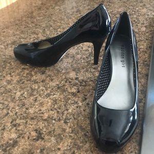Madden girl black heel